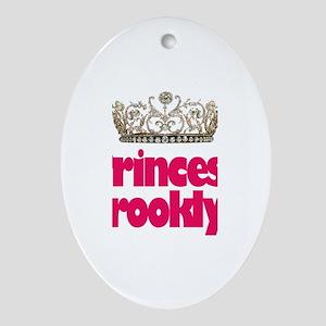 Princess Brooklyn Oval Ornament
