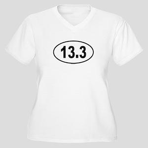 13.3 Womes Plus-Size V-Neck T-Shirt