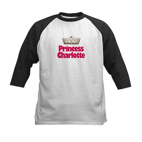Princess Charlotte Kids Baseball Jersey