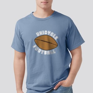 Unicycle Football Text Mens Comfort Colors® Shirt