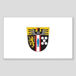 KAISERSLAUTERN KREIS Rectangle Sticker