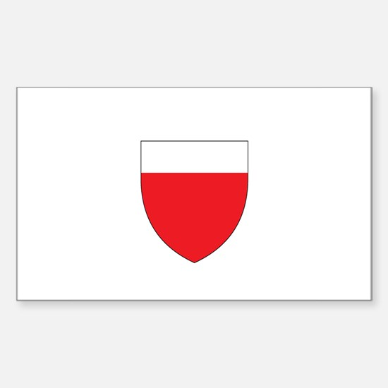 LAUSANNE Rectangle Decal