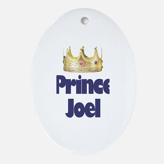 Prince Joel Oval Ornament