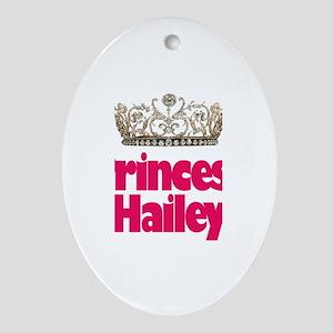 Princess Hailey Oval Ornament