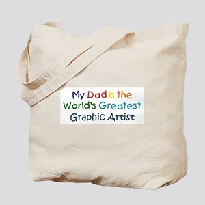 Greatest Graphic Artist Tote Bag
