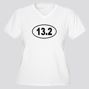 13.2 Womes Plus-Size V-Neck T-Shirt