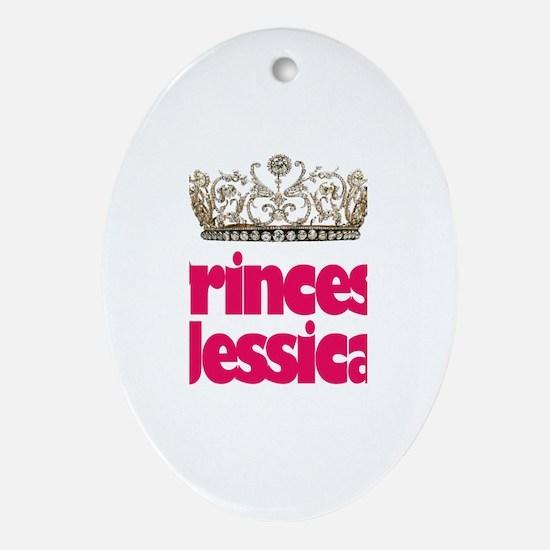 Princess Jessica Oval Ornament