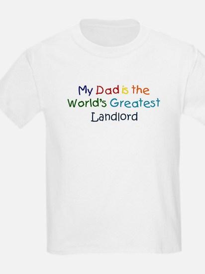 Greatest Landlord T-Shirt