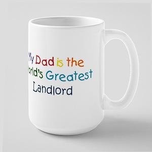 Greatest Landlord Large Mug