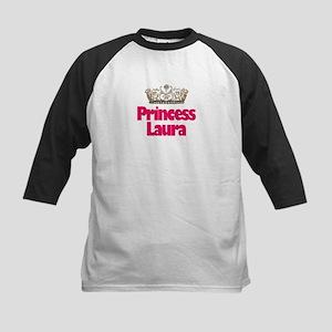 Princess Laura Kids Baseball Jersey