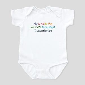 Greatest Receptionist Infant Bodysuit