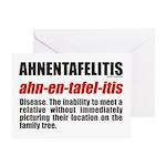 Ahnentafelitis Birthday Card