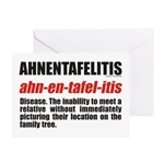 Ahnentafelitis Birthday Card