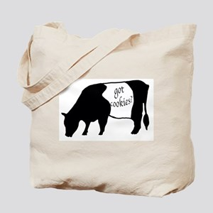oreo cookie cow Tote Bag
