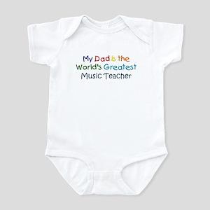 Greatest Music Teacher Infant Bodysuit