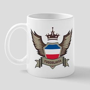 Yugoslavia Emblem Mug