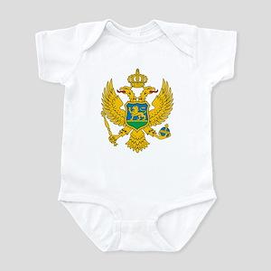 Montenegro Coat Of Arms Infant Bodysuit
