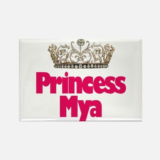 Princess Mya Rectangle Magnet