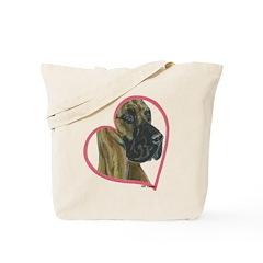 Fface Heartline Tote Bag