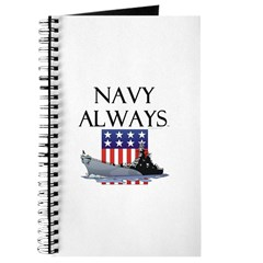 Navy Always Journal