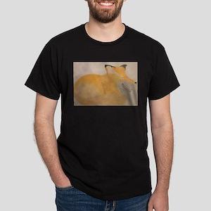 Sleepy Fox White T-Shirt