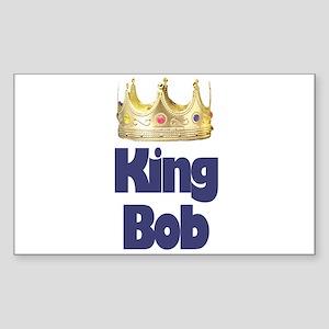 King Bob Rectangle Sticker