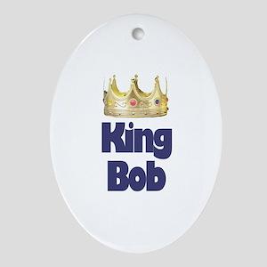 King Bob Oval Ornament