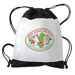 New Jersey Uke Fest 2018 Oval Logo Drawstring Bag
