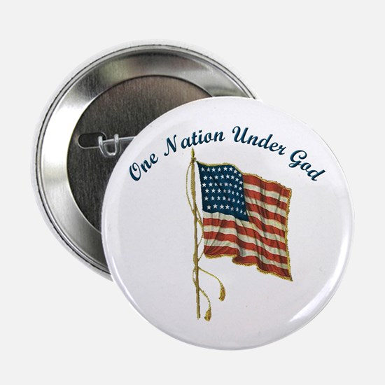 One Nation Under God Button