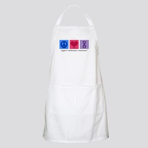 Peace Love Cure AD BBQ Apron