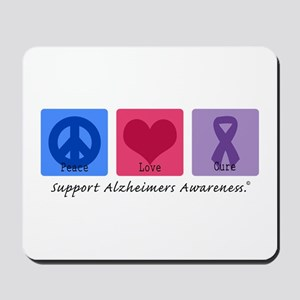 Peace Love Cure AD Mousepad