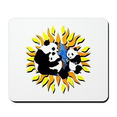Panda Planet Mousepad