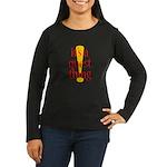 Quest Thing Women's Long Sleeve Dark T-Shirt