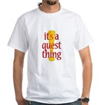 Quest Thing White T-Shirt