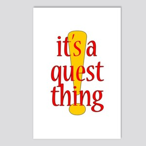 Quest Thing Postcards (Package of 8)