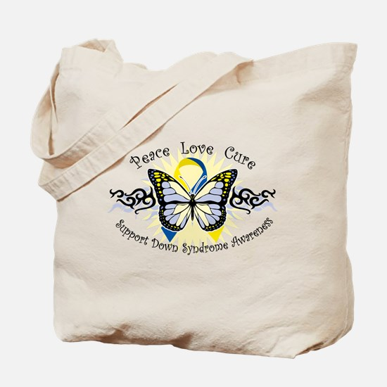 DS Tribal Butterfly Tote Bag