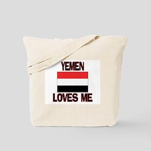 Yemen Loves Me Tote Bag