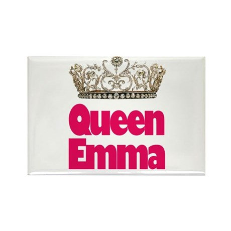 Queen Emma Rectangle Magnet