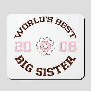 Best Big Sister 08 Mousepad