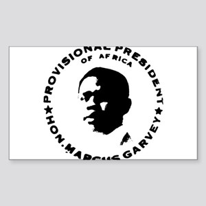 Marcus Garvey Rectangle Sticker