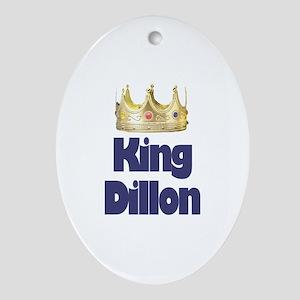 King Dillon Oval Ornament
