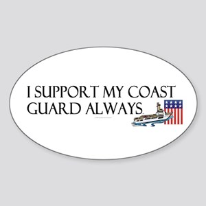 Coast Guard Always Sticker (Oval)