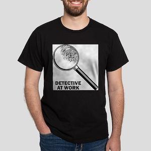 Detective At Work Ash Grey T-Shirt