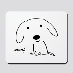 Little Woof Mousepad