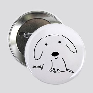 "Little Woof 2.25"" Button"
