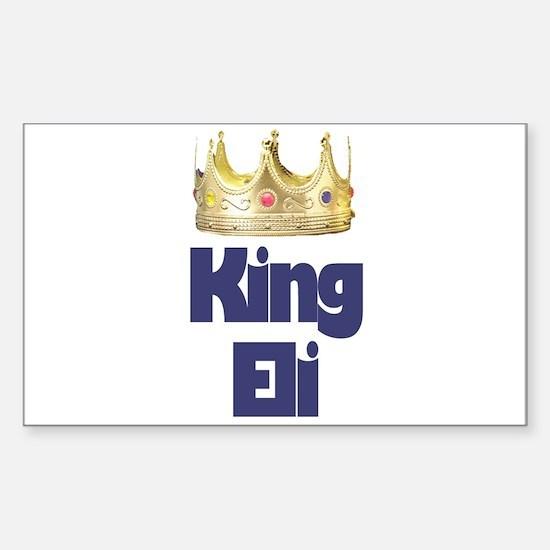 King Eli Rectangle Decal
