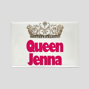 Queen Jenna Rectangle Magnet