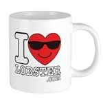 I LOVE LOBSTER Mugs