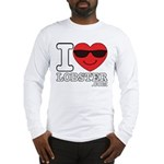 I LOVE LOBSTER Long Sleeve T-Shirt