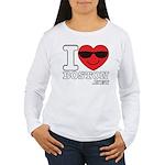I LOVE BOSTON.png Long Sleeve T-Shirt